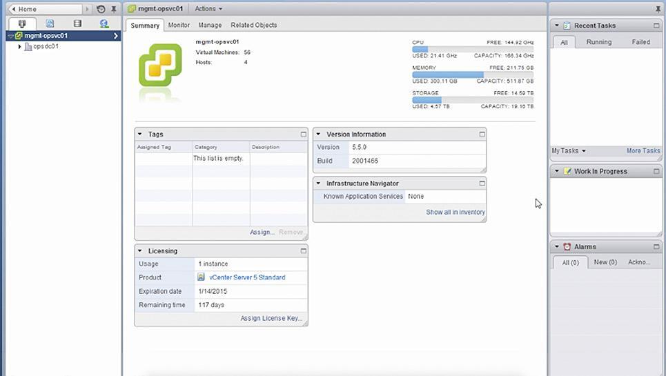 Opiniones vSphere: Potente solución de virtualización para la nube híbrida - appvizer