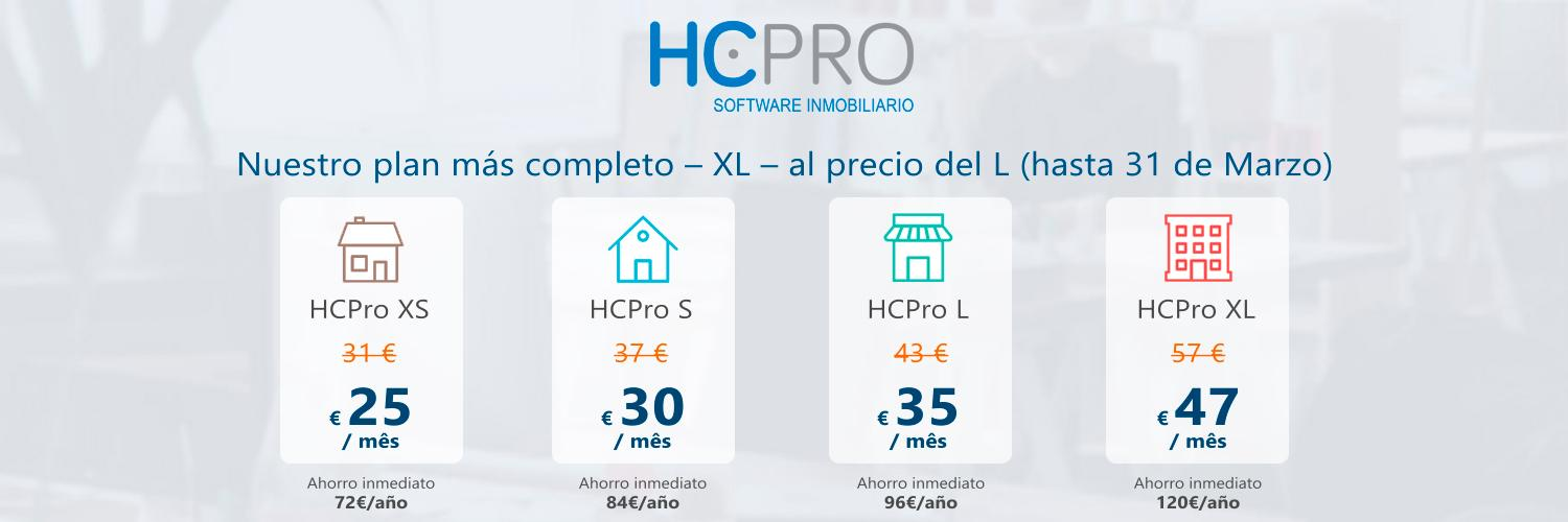 Opiniones HCPro - Software Inmobiliario: HCPro = Software Inmobiliario + Web Personalizada + Pasarela - appvizer