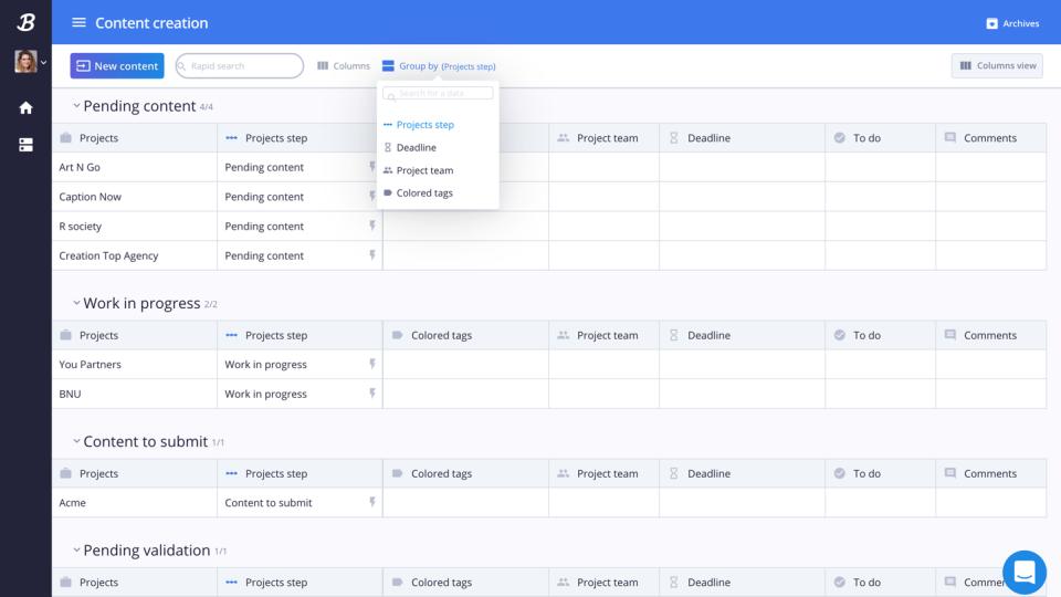 La mesa de display permite manejar los procesos estandarizados