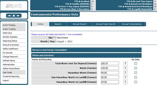 El cumplimiento Airsweb Gestión-pantalla-2