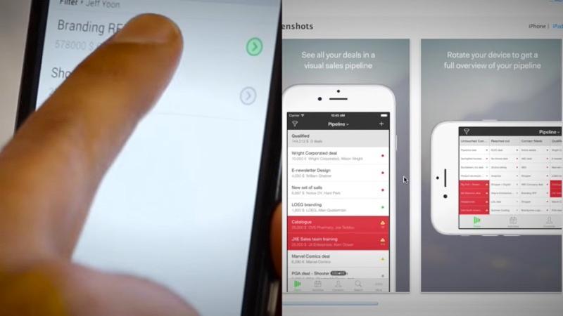 Pipedrive es un CRM en línea que ofrece aplicaciones móviles