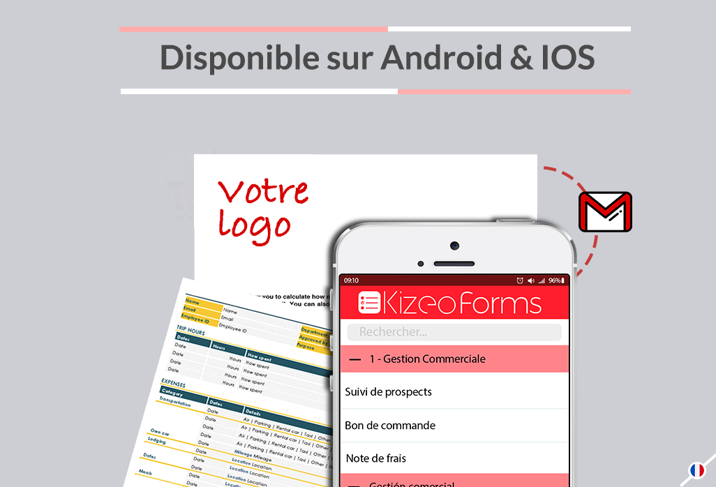 Avec Kizeo Forms, l'envoi de données mobiles (devis, comptes rendus,) est illimité. Nous vous le promettons, vous ne serez jamais pris de court !