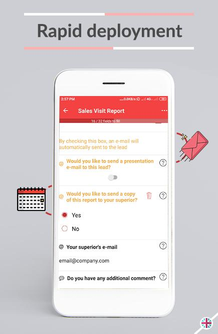 Achieve immediate and rapid deployment with our online form builder and mobile application.