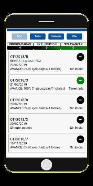 Solución móvil App GMAO