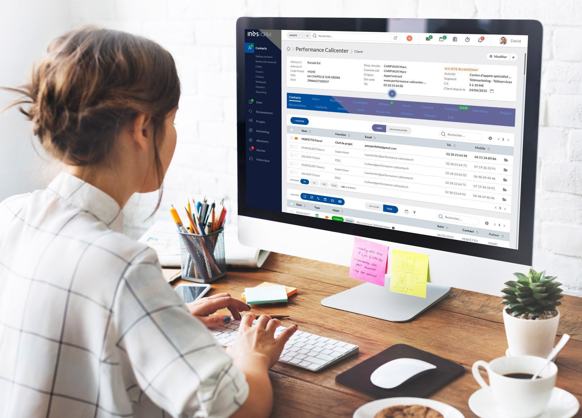 Opiniones INES CRM: Software de CRM 100% cloud especializado en PYMES - Appvizer