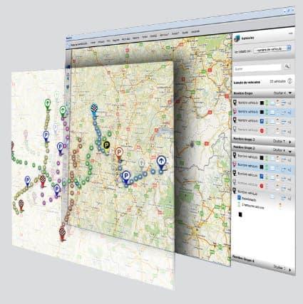 Visualiza las diferentes capas de información sobre el mapa