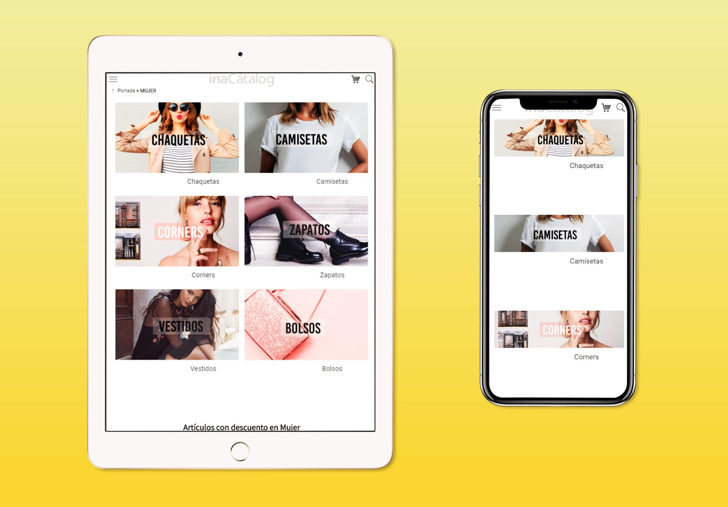 inaCátalog B2B Online Sales-Categorias-Responsive-Mobile