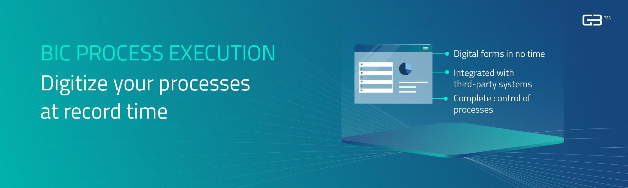 Opiniones BIC Process Execution: Ejecute y automatice sus procesos con BIC Execution - appvizer