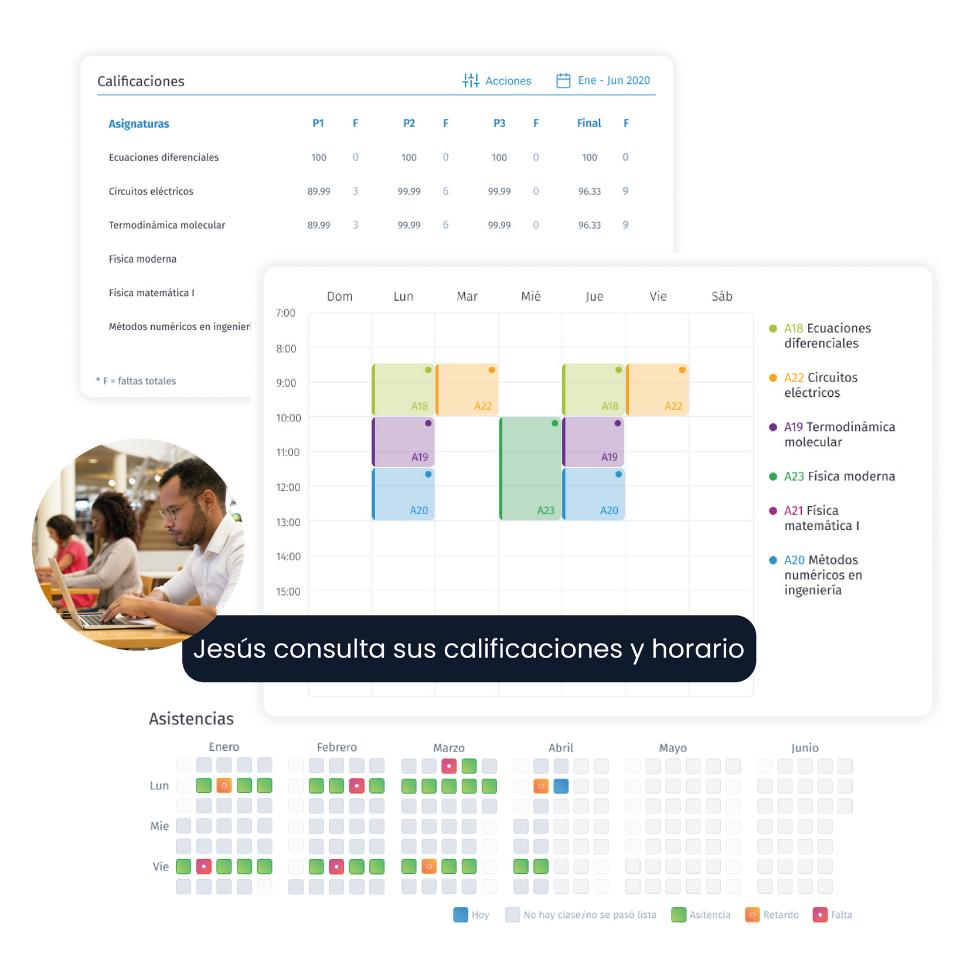Portal del alumno y docente