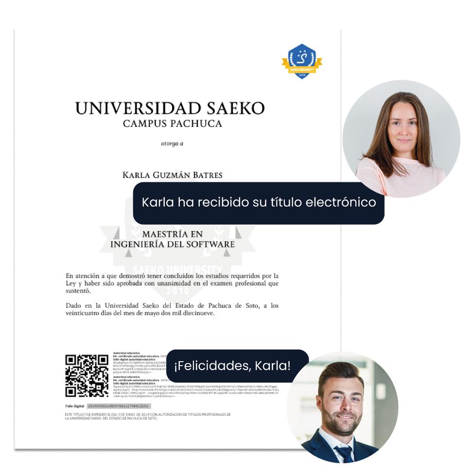 Certificación y titulación electrónica