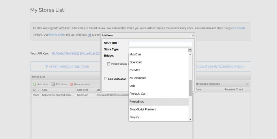 API2Cart de pantalla-2