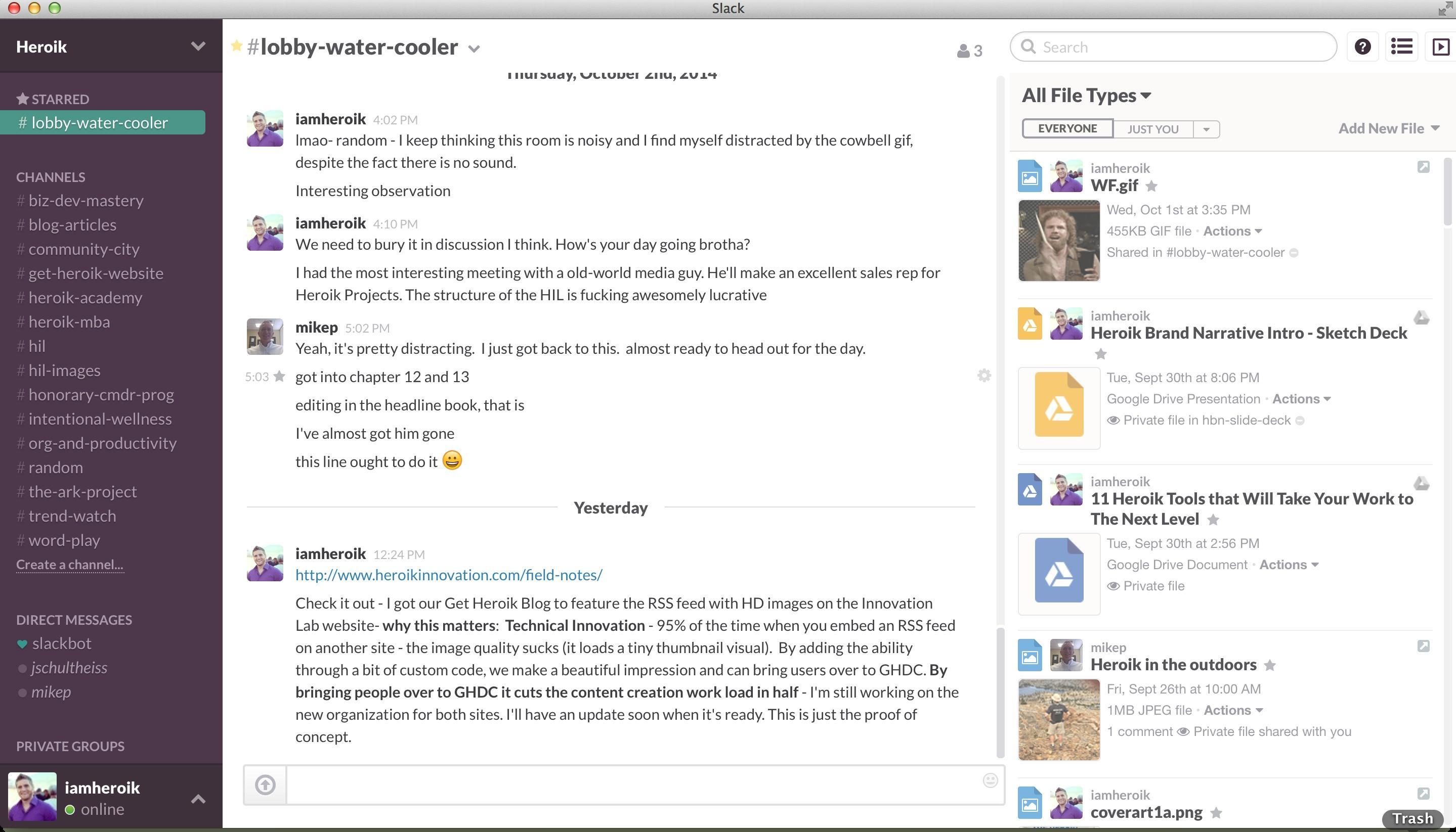 Slack: La mensajería instantánea (IM) Compatible Mac OS, mensajería instantánea (IM)