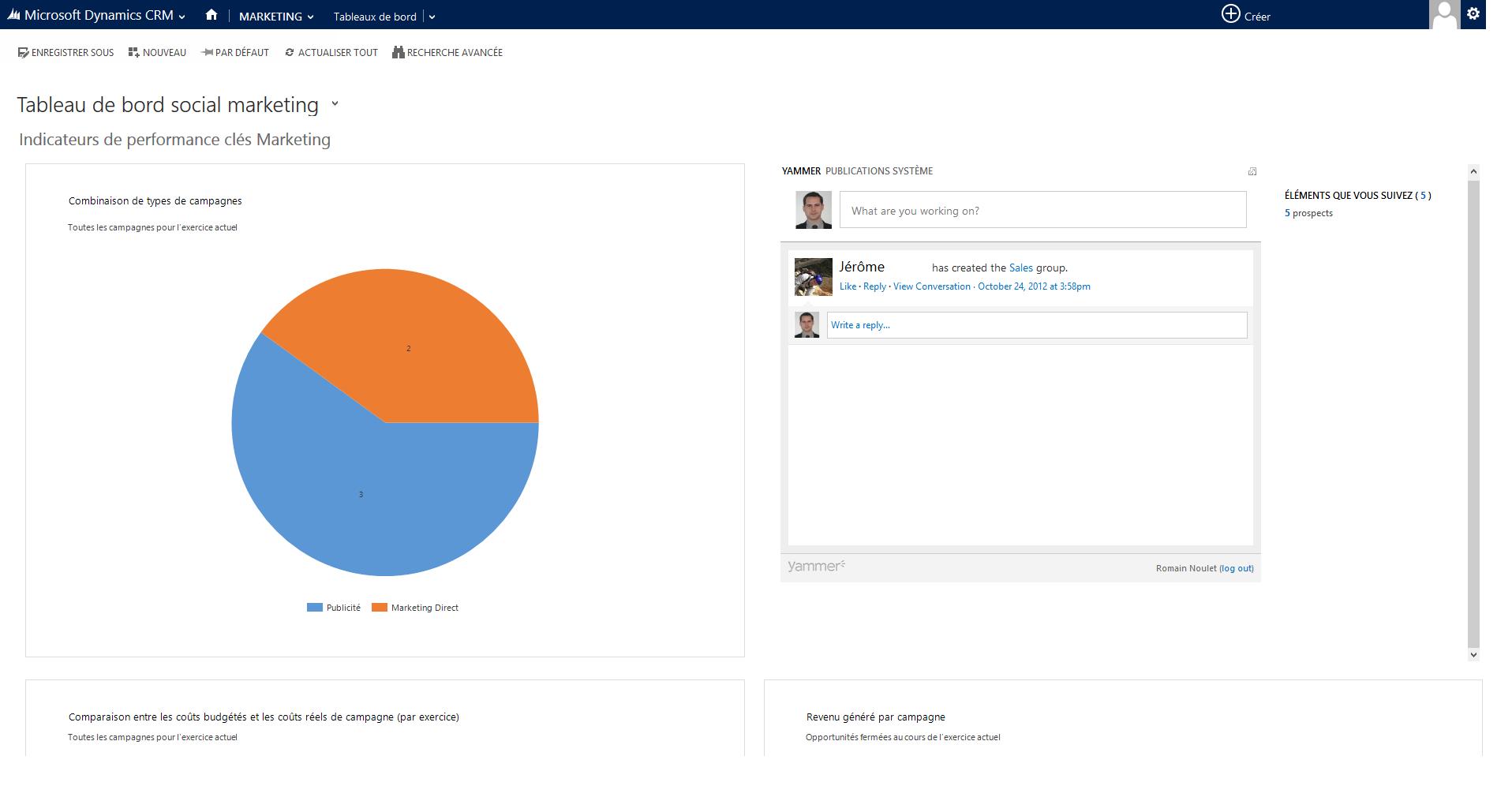 Microsoft Dynamics CRM: Tipo de contacto, seguro contra la pérdida de datos, etiquetas