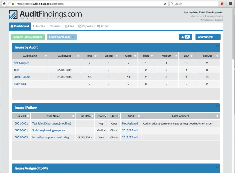 AuditFindings.com-pantalla-0