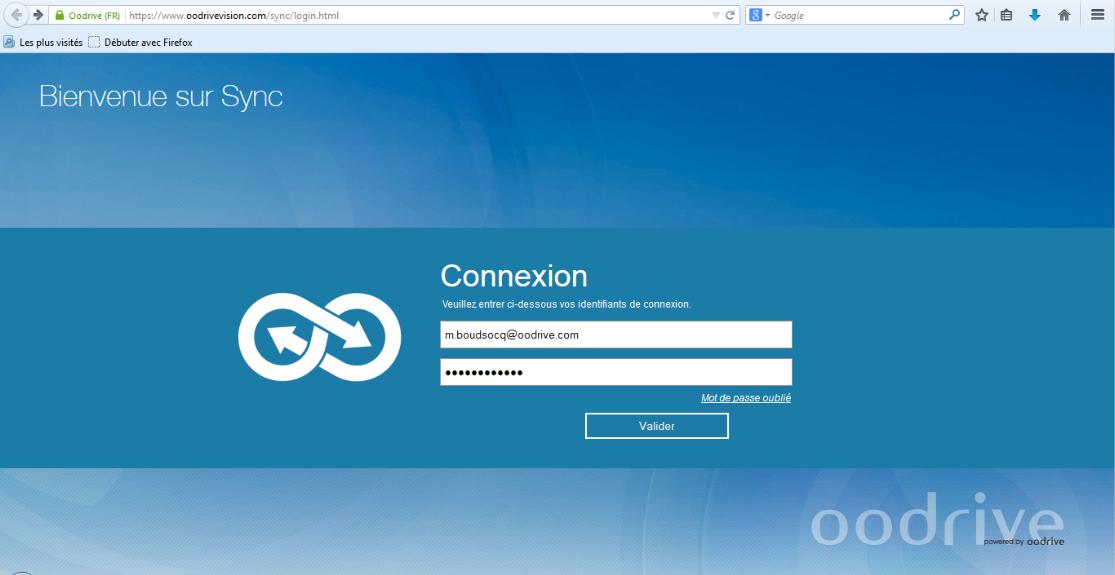 Oodrive sincronización: Biblioteca de documentos, gestión de usuarios, Comunidad (preguntas frecuentes, Foro)