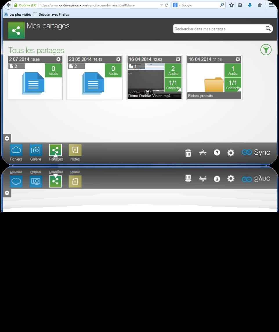 Oodrive Sync: Las versiones de documentos, Soporte 24/7, el estricto control de acceso a los servidores