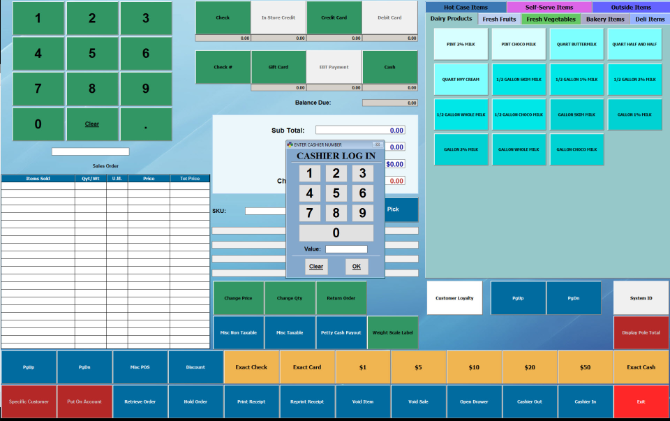 EPS: táctil al por menor POS-pantalla-2
