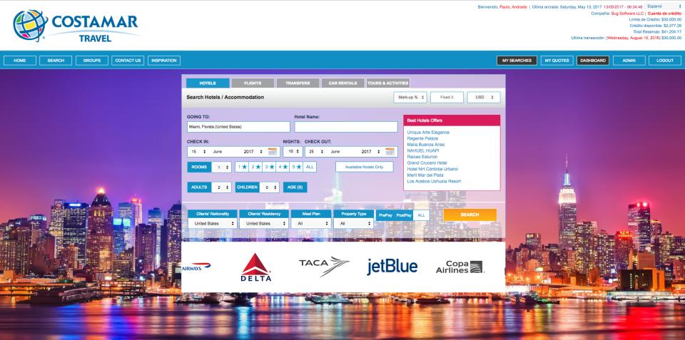 BugHotel Reservation System-pantalla-0