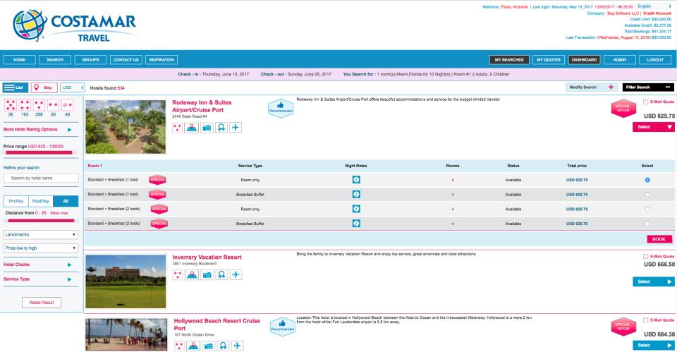 BugHotel Reservation System-pantalla-1
