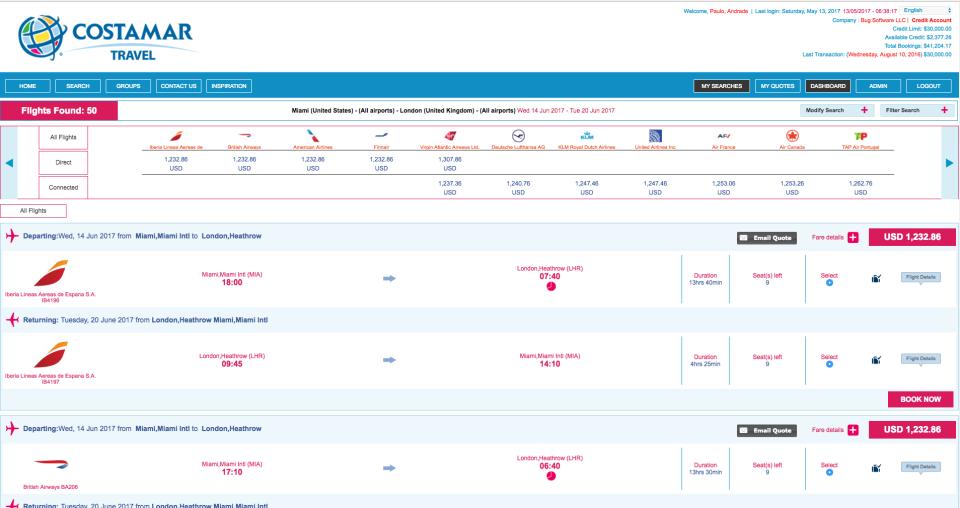 BugHotel Reservation System-pantalla-2