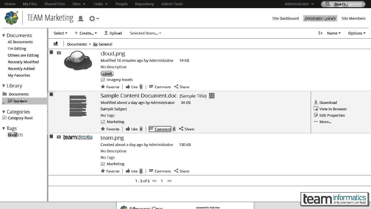 Opiniones Alfresco One: Plataforma eficiente de gestión de contenidos empresariales - appvizer