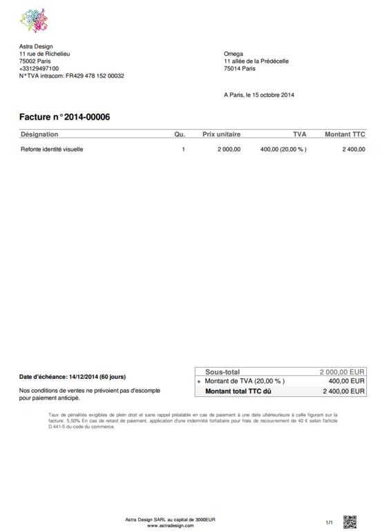 Let it B: Declaración de IVA, facturación recurrente, Gestión de múltiples monedas