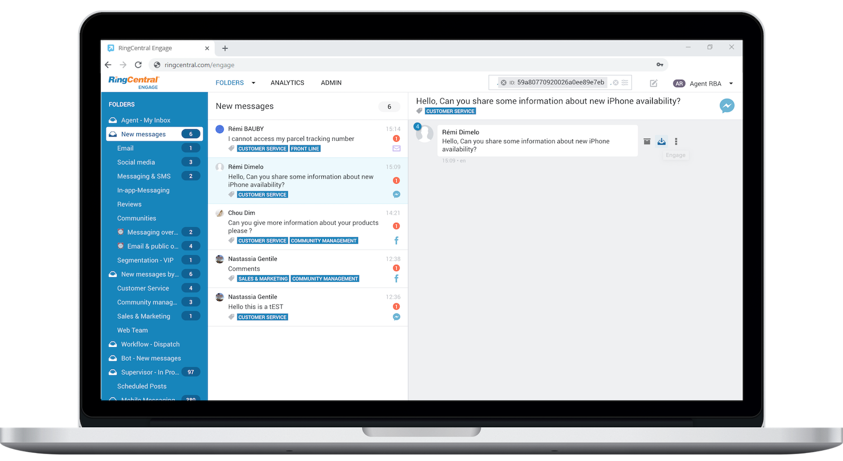 RingCentral Engage Digital-Treatment-Engage