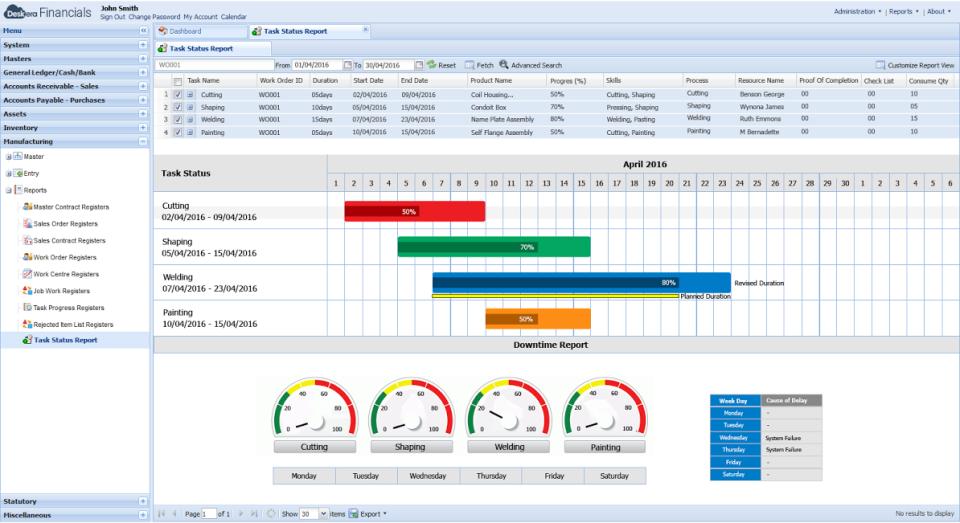 Deskera ERP-pantalla-2