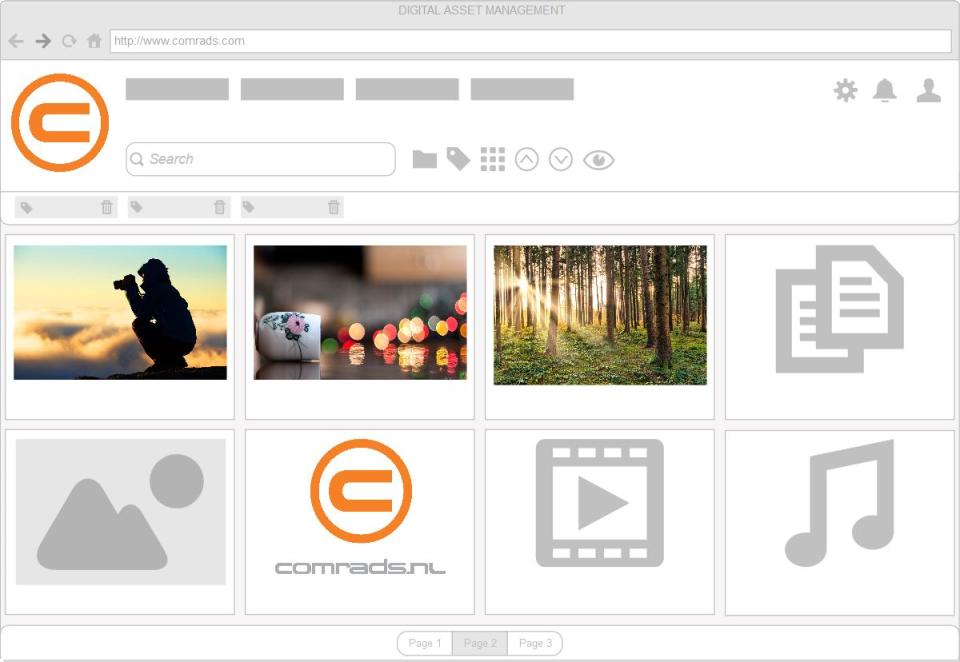 Digital Asset Management-pantalla-1