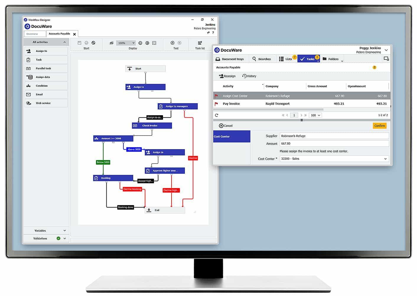 DocuWare-docuware workflow