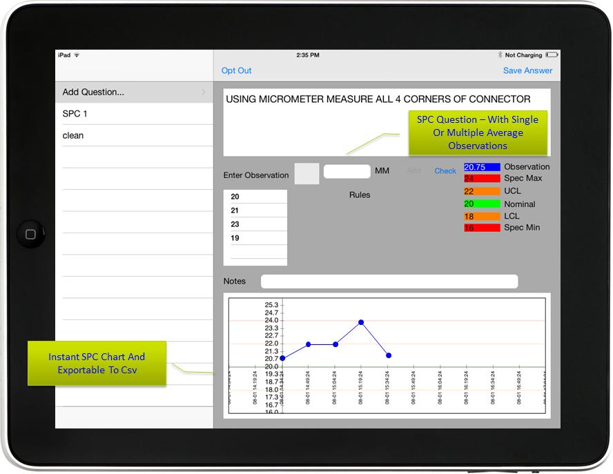 E-Data Ahora Software de Inspección-pantalla-0