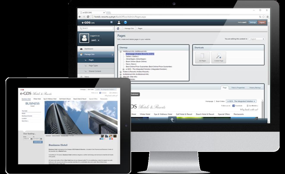 e-GDS Site Builder-pantalla-0