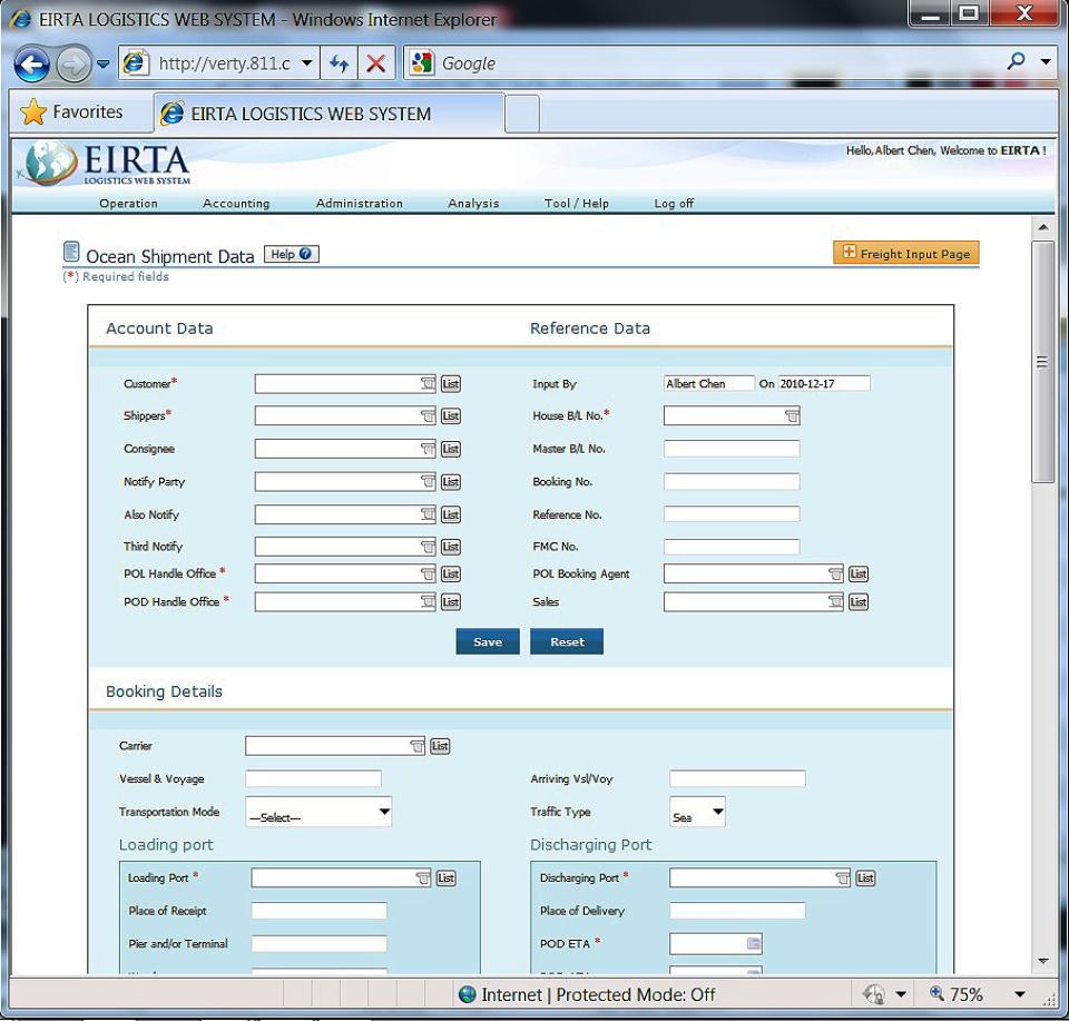 Eirta Sistema de Logística Web-pantalla-2