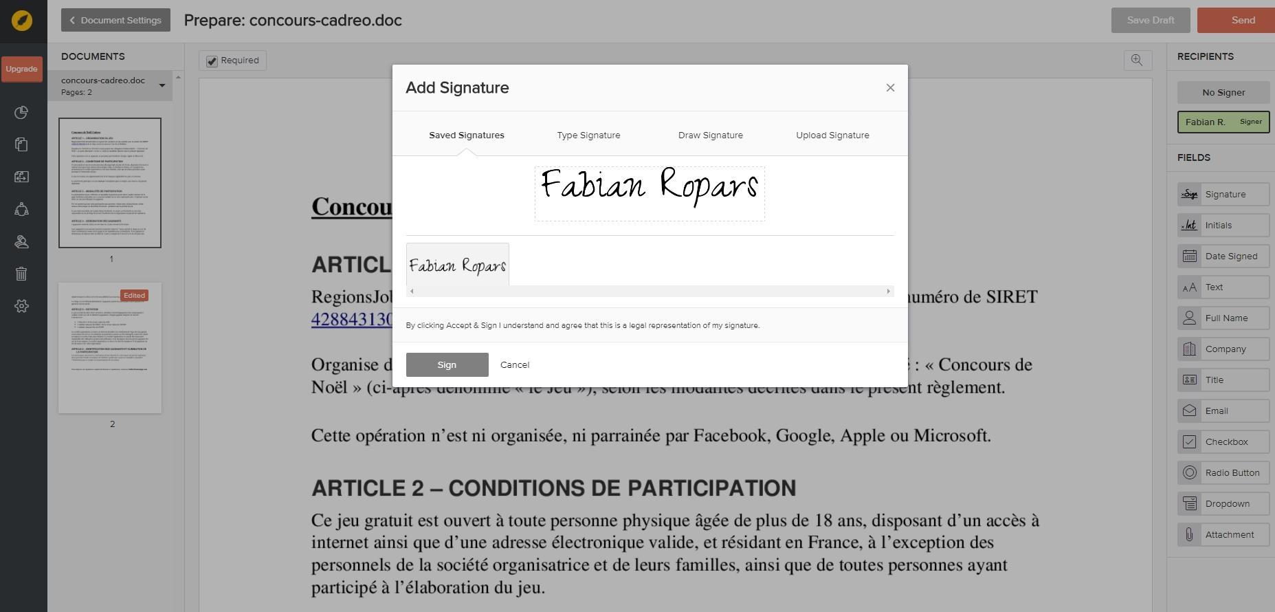 Opiniones eversign: Software de firma electrónica - appvizer