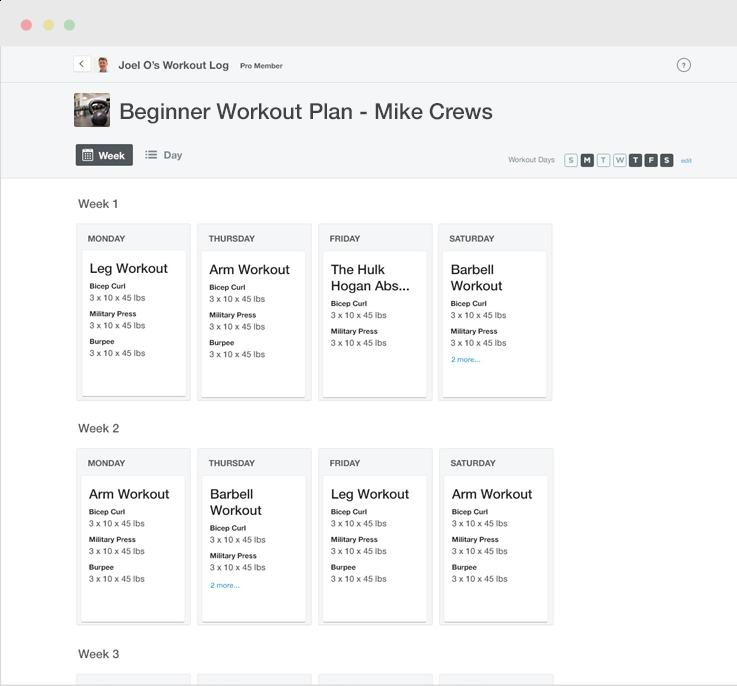 Exercise.com para Negocios-pantalla-1