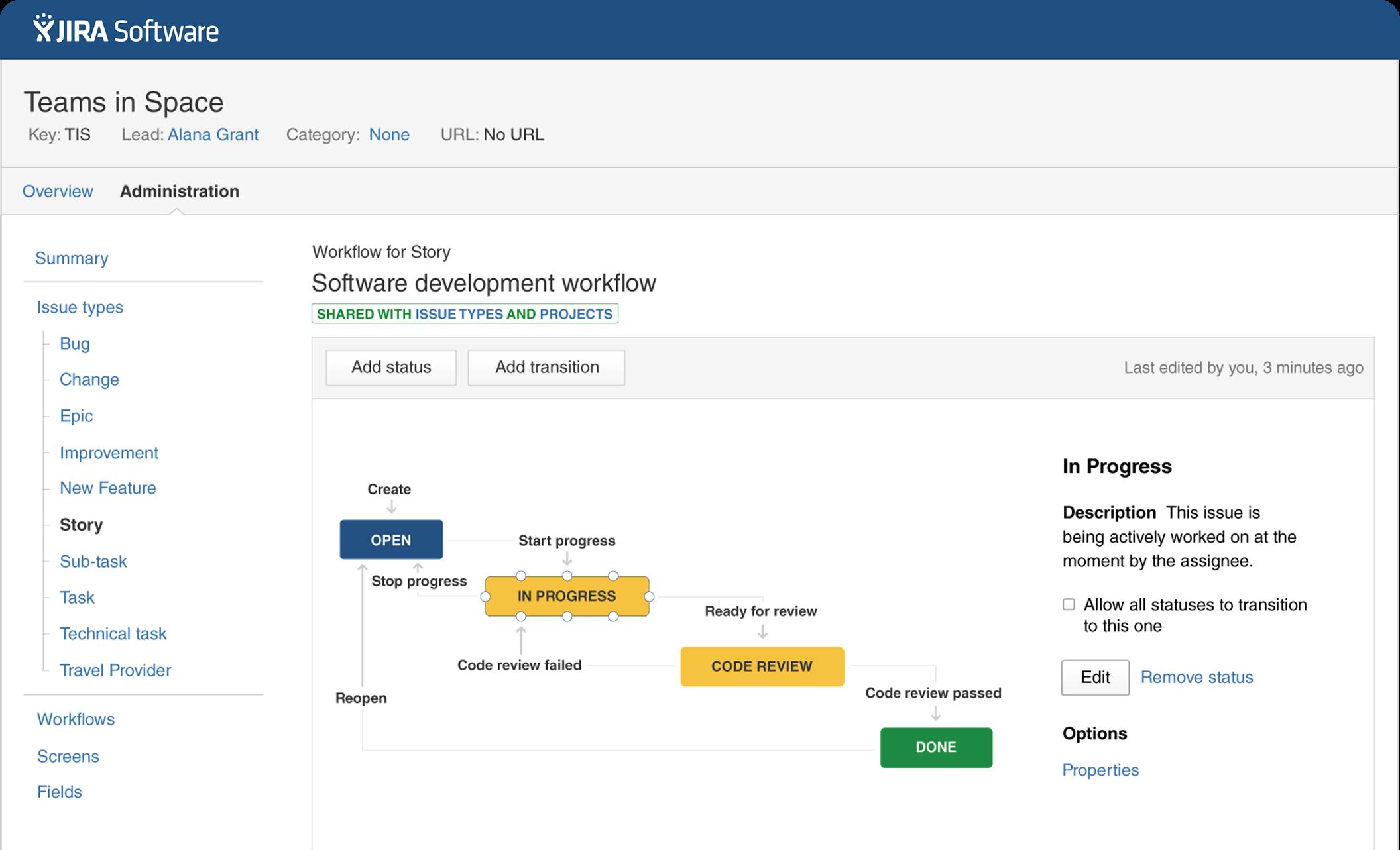 herramienta de gestión de proyectos-jira-software de flujo de trabajo