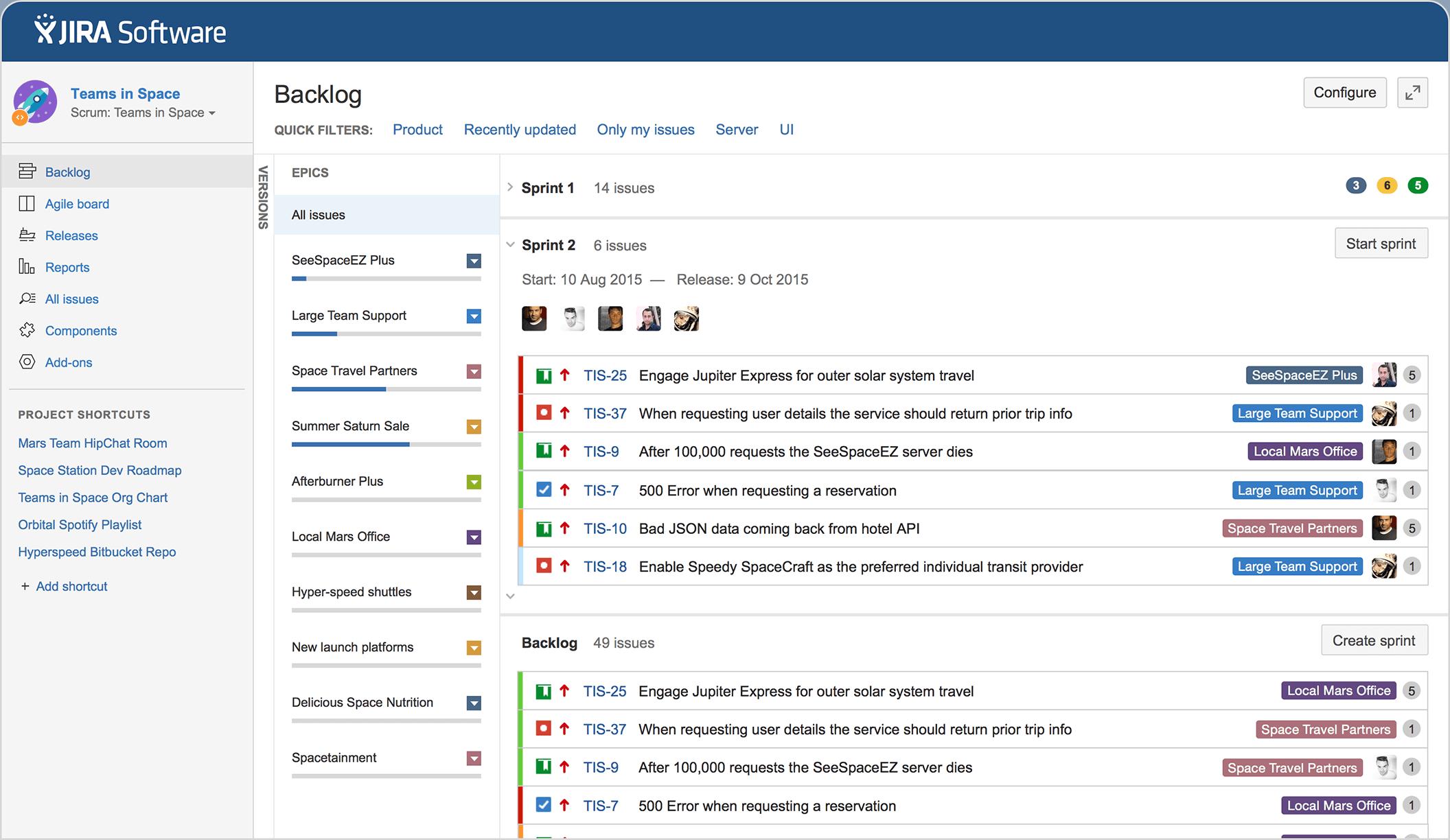 herramienta de gestión de proyectos de software-jira-de planta