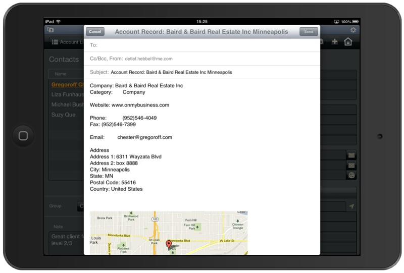 FileMaker Pro App para CRM-pantalla-1
