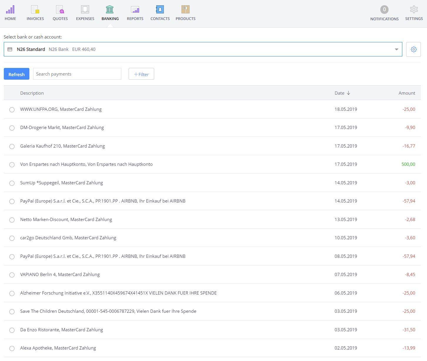 Debitoor-screenshot-web-banking-overview
